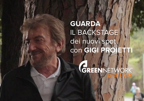 Green Network: watch the backstage of new commercials!