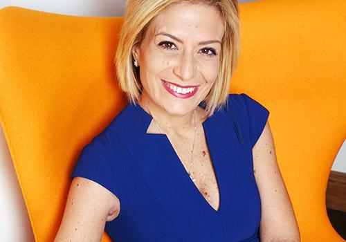 Una donna a capo di una grande azienda, conciliando affari e famiglia: Sabrina Corbo