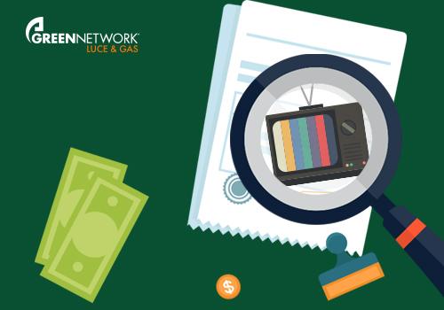 Canone RAI: ancora una volta la bolletta di Green Network si rivela trasparente
