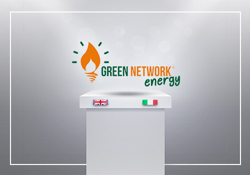 The Green Network Group launches the new logo in view of landing in the UK