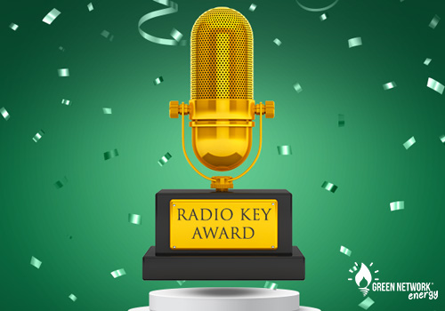 "Green Network ha vinto il prestigioso ""Radio Key Award"""