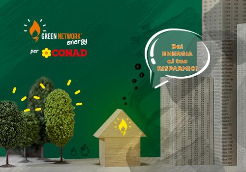 L'offerta di Green Network a condizioni esclusive per i clienti Conad