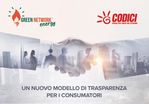 Siglato accordo tra Green Network e associazione consumatori Codici