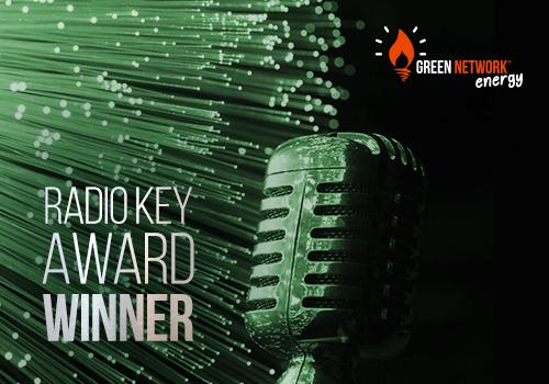 Green Network vince il Radio Key Award per il secondo anno consecutivo