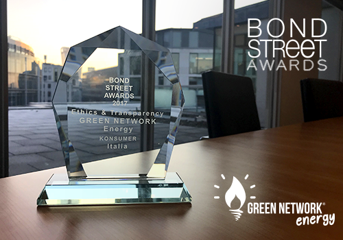 Green Network vince il Bond Street Awards