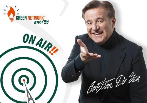 Green Network Energy è on air per il secondo anno con Christian De Sica