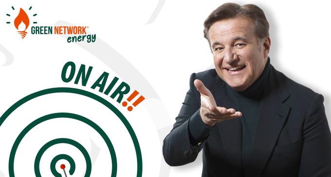 Green Network Energy è on air per il secondo anno con Christian De Sica