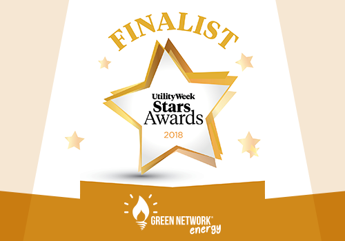 Green Network Energy in The Race for Two Utility Week Stars Awards