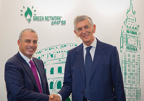 Green Network is the first Italian company to enter the Energy department of OIC
