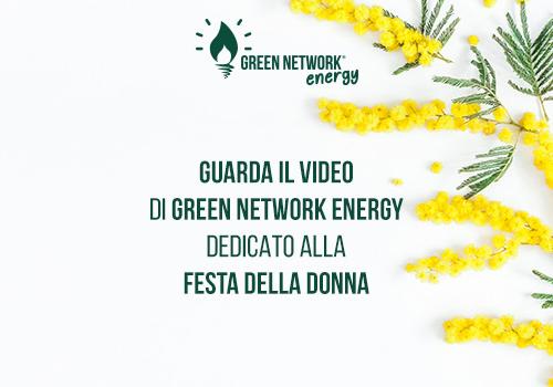 Green Network per la Festa della Donna