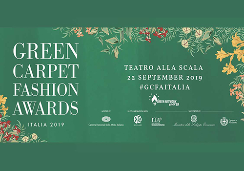 Green Network è partner della 3° edizione dei Green Carpet Fashion Awards Italia