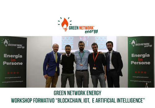 "Green Network tiene il workshop formativo ""Blockchain, IOT e Artificial Intelligence"""