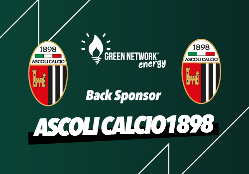 Green Network Energy is the new sponsor of the Ascoli Calcio shirt