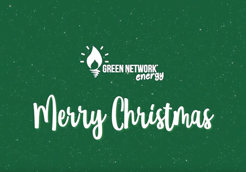 Buon Natale da Green Network Energy - Live, Love, Be Green