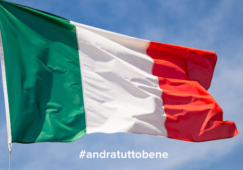 Forza cara amata Italia!