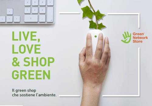 Green Network Store: la piattaforma per l'acquisto di prodotti sostenibili